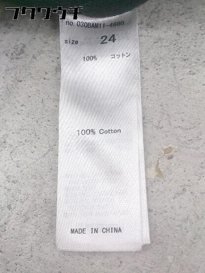 ◇ SLY スライ カットオフ ジーンズ デニム パンツ サイズ24 ブラック レディース_画像4