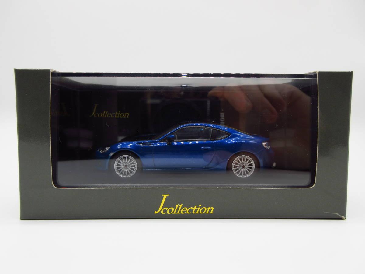 1/43 京商 J-collection スバル BRZ STI 東京オートサロン2012 限定品 ミニカー version Blue_画像1