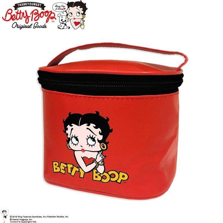 サンキューマート  ベティ・ブープ BETTY BOOP バニティ 化粧ポーチ メイクポーチ  メイクボックス