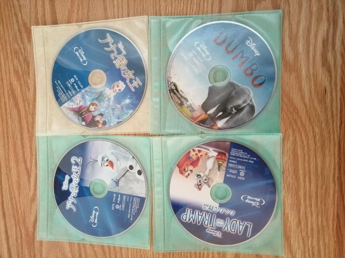 早いもの勝ち ディズニー Blu-ray 4点セット 国内正規品 未再生 ダンボ など