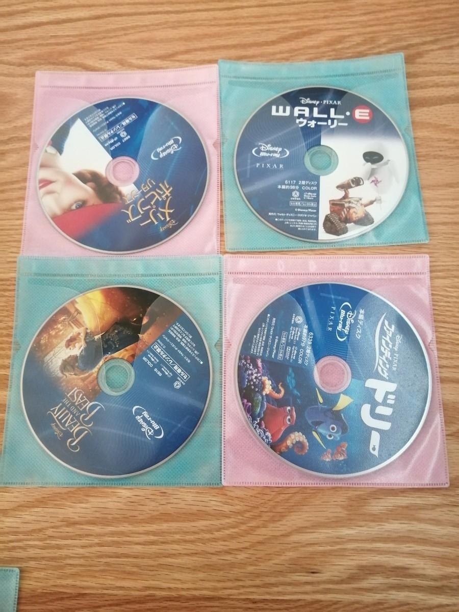 ディズニー Blu-ray 4点セット 国内正規品 未再生 メリー・ポピンズ など