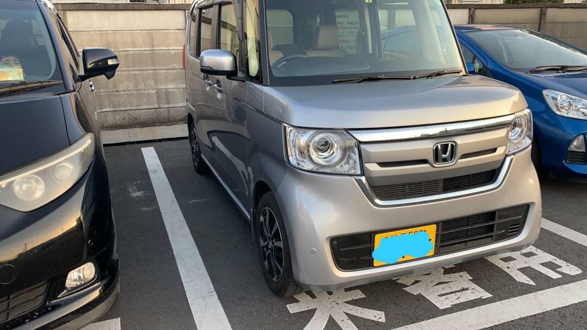 「2年 ホンダ NBOX カスタム Gホンダセンシング 6,000Km! 車検令和5年4月 10万スタート売り切り!!!」の画像3