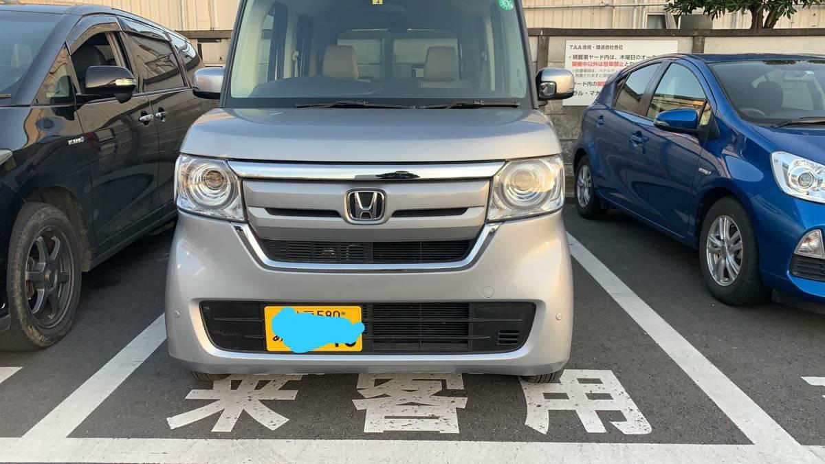 「2年 ホンダ NBOX カスタム Gホンダセンシング 6,000Km! 車検令和5年4月 10万スタート売り切り!!!」の画像2