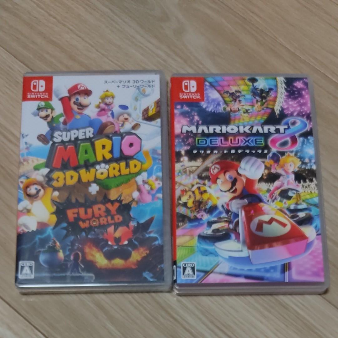 マリオカート8デラックス Nintendo Switch マリオ3Dワールド
