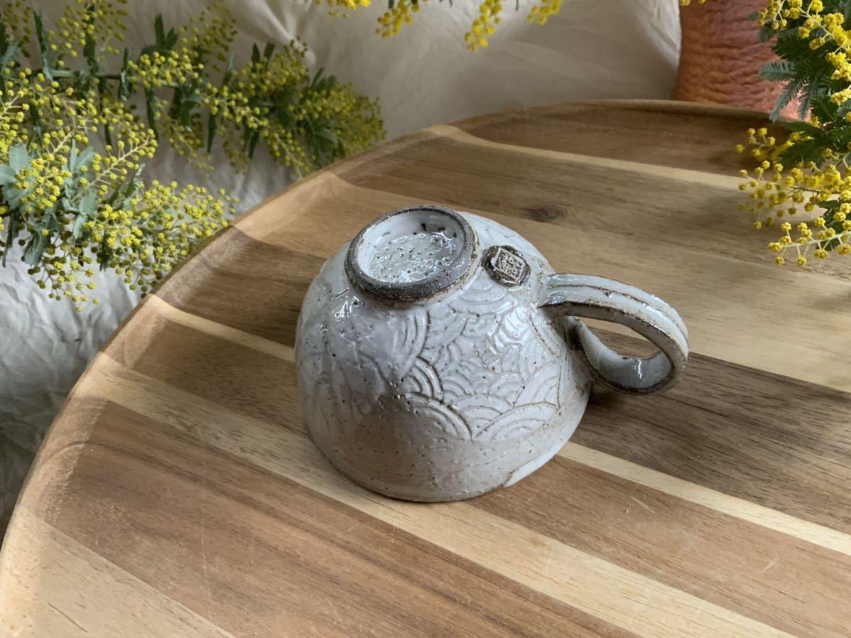 167 マグカップ コーヒーカップ オブジェ インテリア 陶器 釉薬 珈琲 食器_画像3