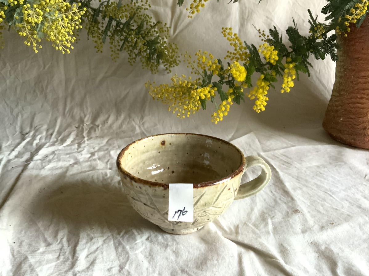 176 白御影土 マグカップ コーヒーカップ ティーカップ オブジェ インテリア 陶器 釉薬 珈琲 食器_画像7