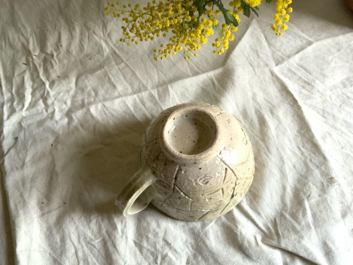 176 白御影土 マグカップ コーヒーカップ ティーカップ オブジェ インテリア 陶器 釉薬 珈琲 食器_画像6