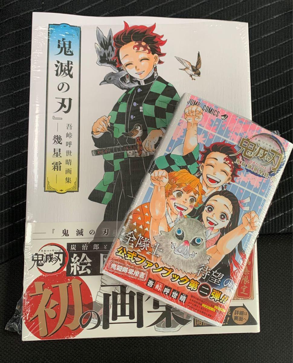 吾峠呼世晴画集 -幾星霜-鬼滅の刃公式ファンブック 鬼殺隊見聞録・弐 2冊セット