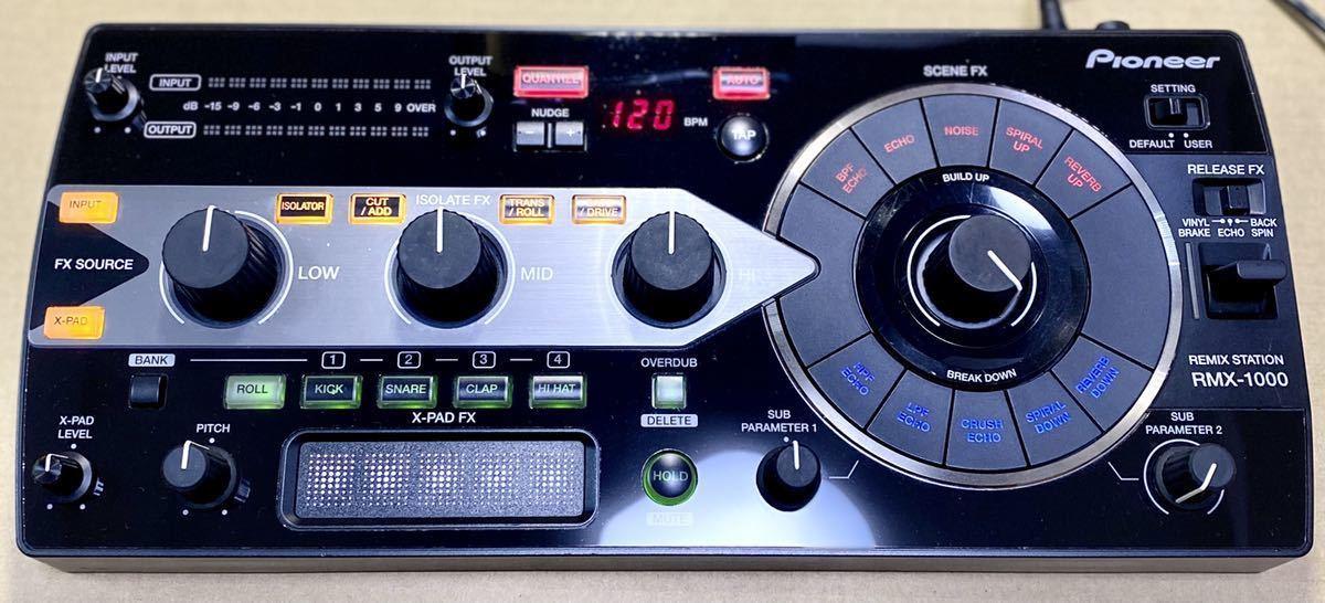 Pioneer RMX-1000 メーカー整備済み 動作確認済み _画像2