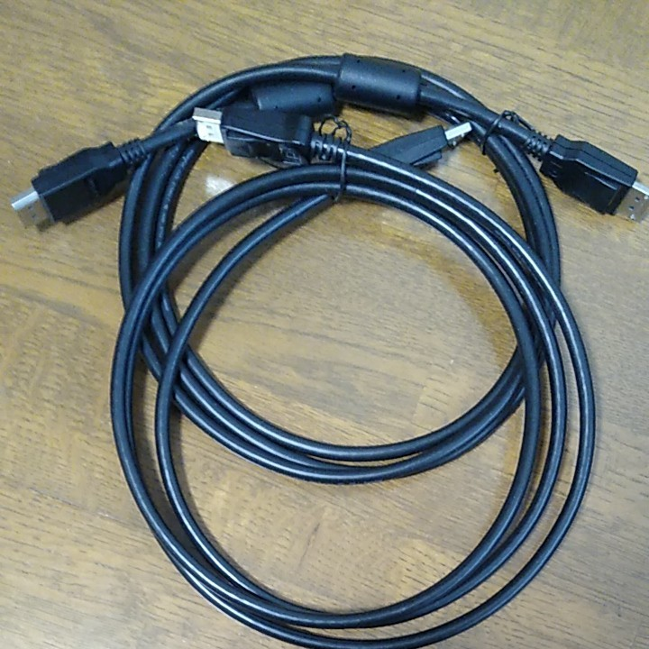 Displayport ディスプレイポート ケーブル DP ケーブル 約 2m