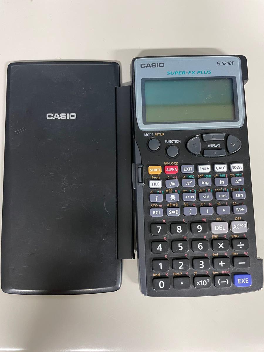 関数電卓 CASIO fx-5800P カシオ プログラム