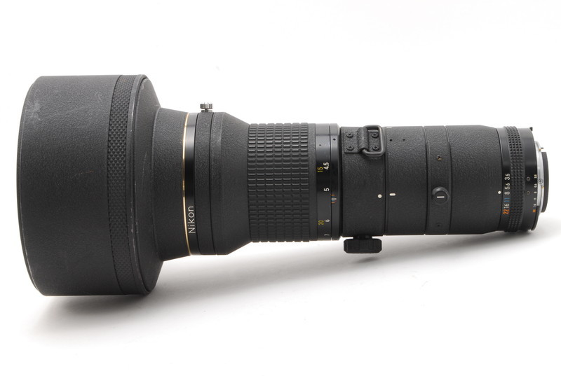 美品 Nikon ニコン Nikkor 400mm F3.5 ED IF Ai-s レンズ  2438