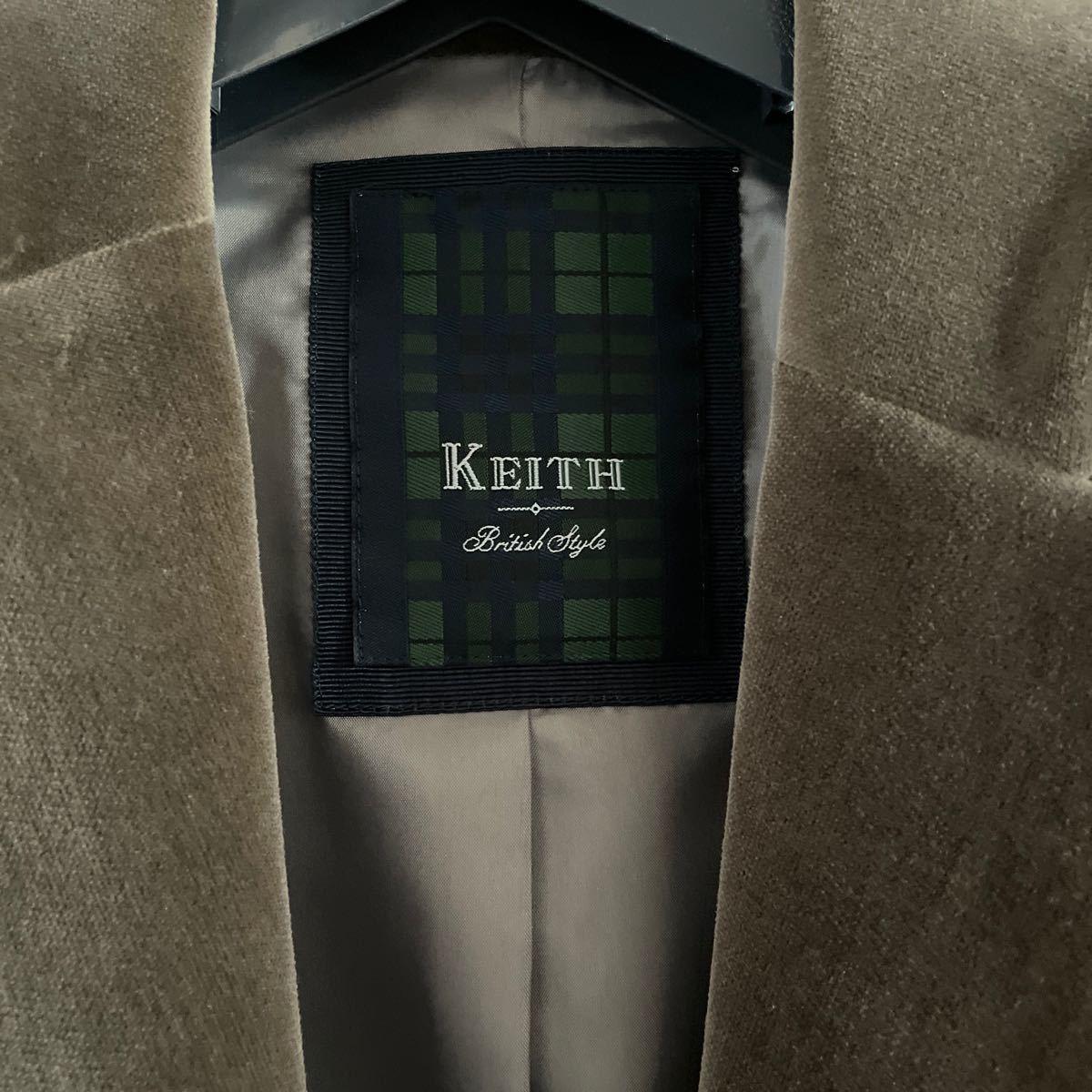 テーラードジャケット KEITH 38 レディースM 9号 ブラウン系
