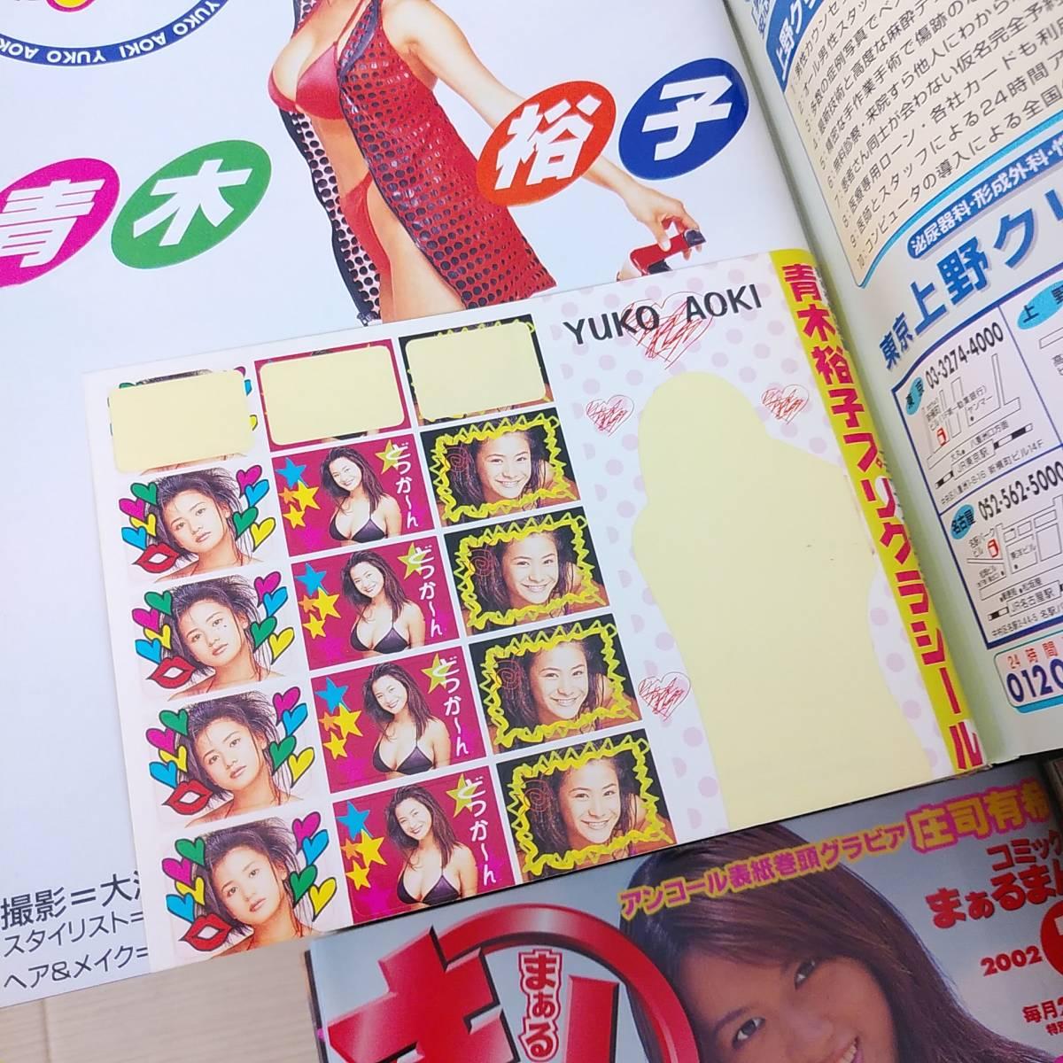 【希少品!】まぁるまん■ぶんか社■デビュー号~■1998年~2002年■合計58冊■雑誌 アイドル 漫画_画像7