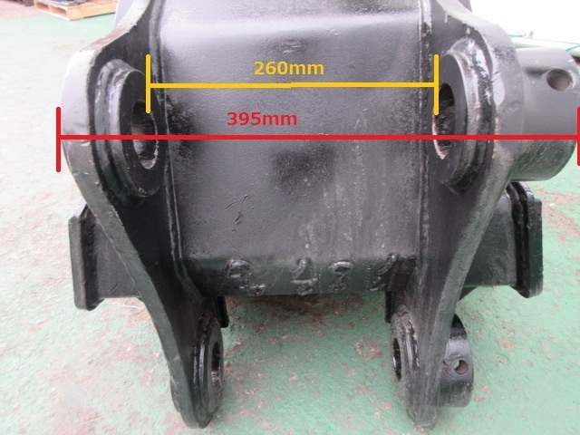 FT19 重機 用 台形バケット ピン径60mm 幅200~650mm ユンボ 建設機械_画像6
