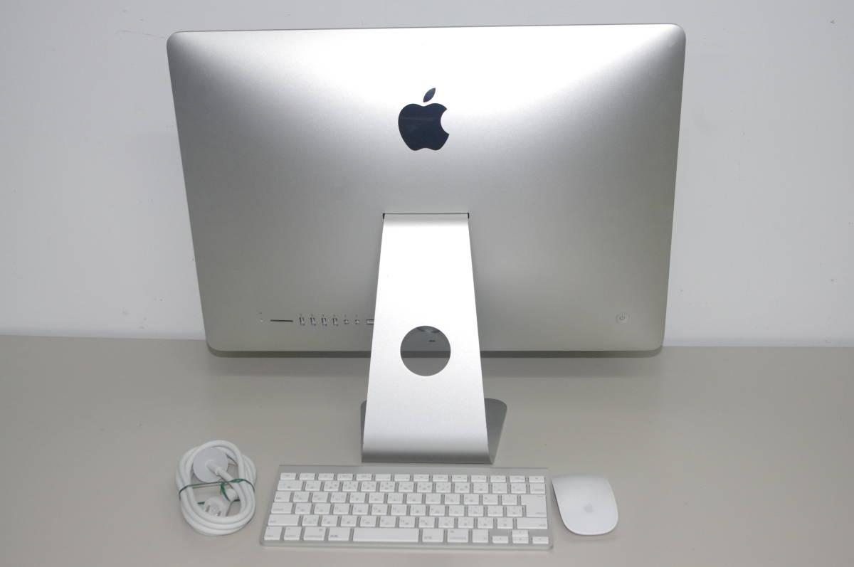 iMac A1418 ME086 (21.5-inch, Late 2013) CPU 2.7GHz HDD1TB メモリー8GB Mac OS X Yosemite 10.10.5_画像2