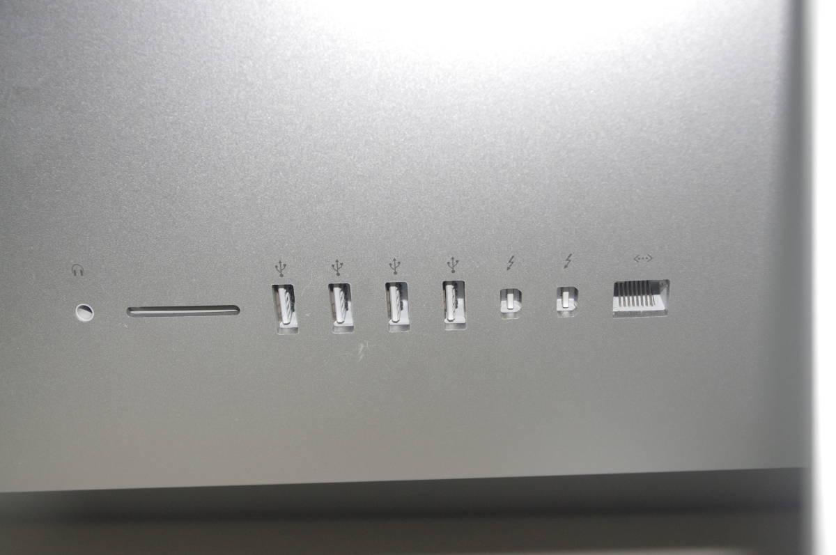 iMac A1418 ME086 (21.5-inch, Late 2013) CPU 2.7GHz HDD1TB メモリー8GB Mac OS X Yosemite 10.10.5_画像3