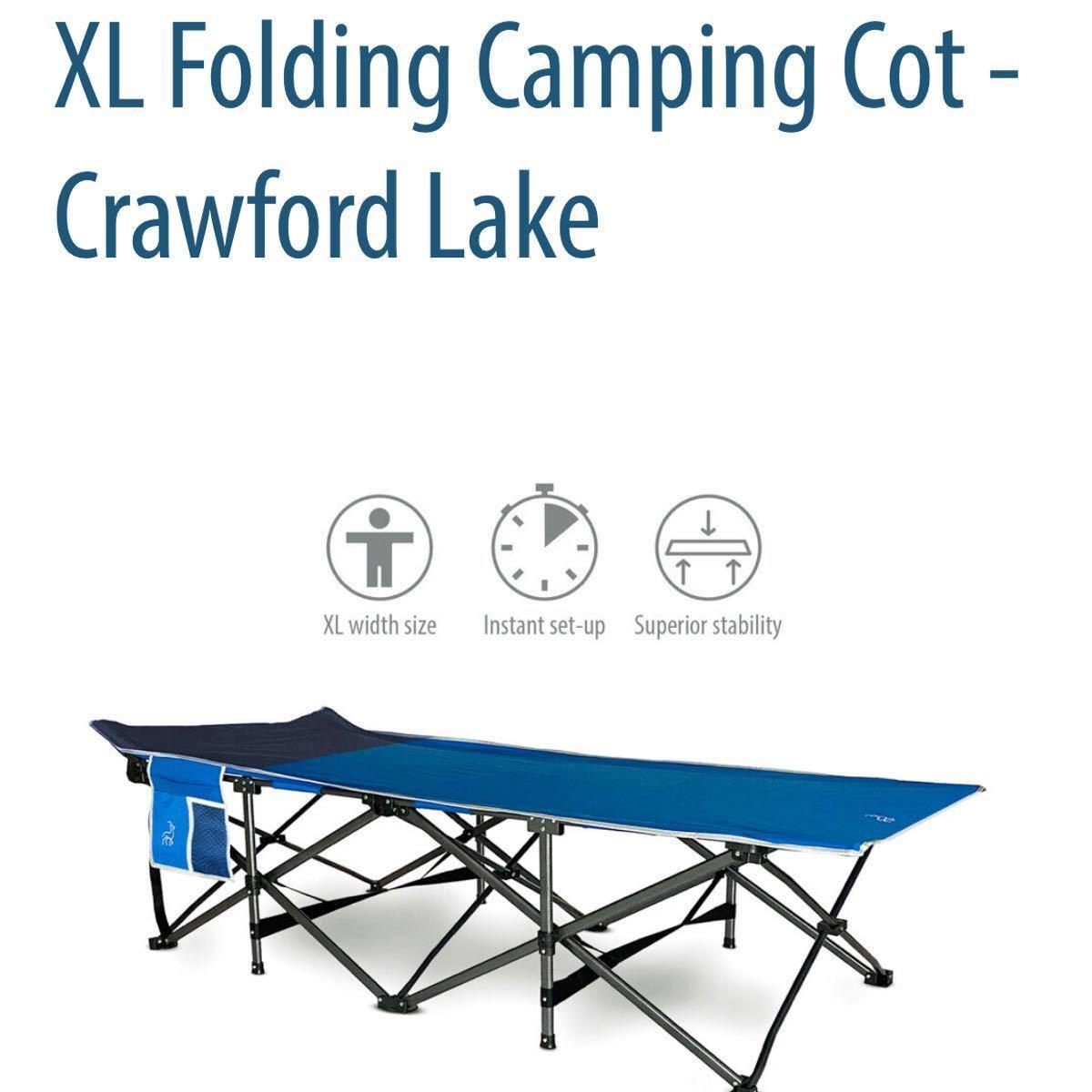 HIDDEN WILD  折り畳み キャンプ コット ベッド 大きいサイズ