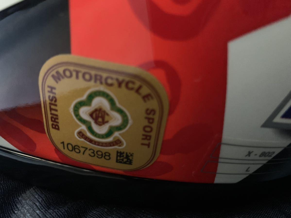 MotoGP Casey Stoner ケーシー ストーナー 直筆サイン入り ヘルメット Nolan x-802 サイズL マルボロ 非売品 懸賞_画像3