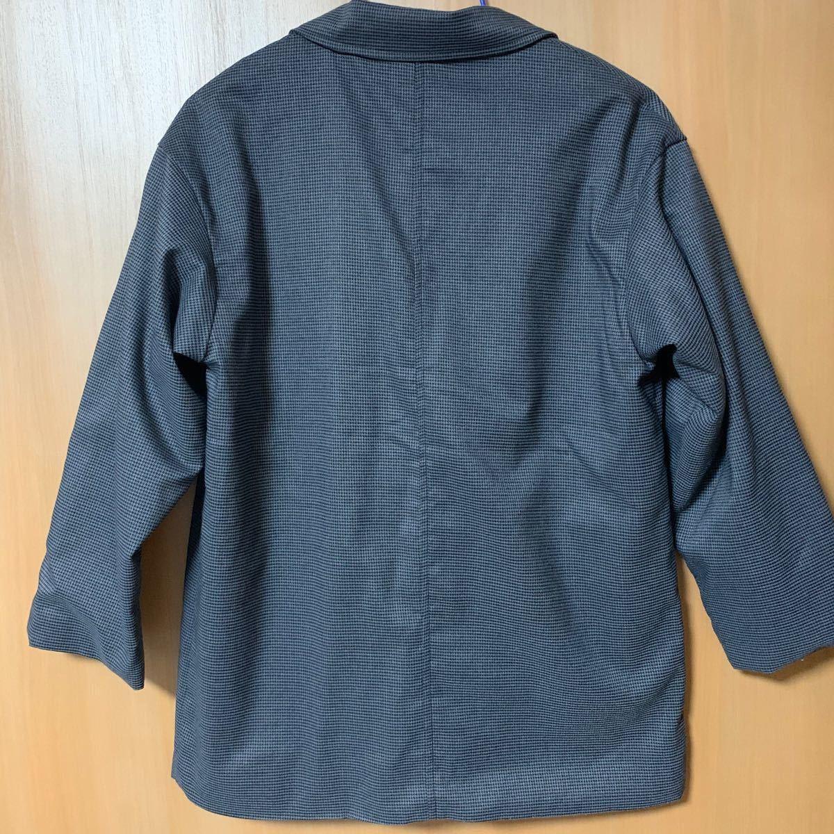 チェックテーラードジャケット・ズボン Samansa Mos2 blue