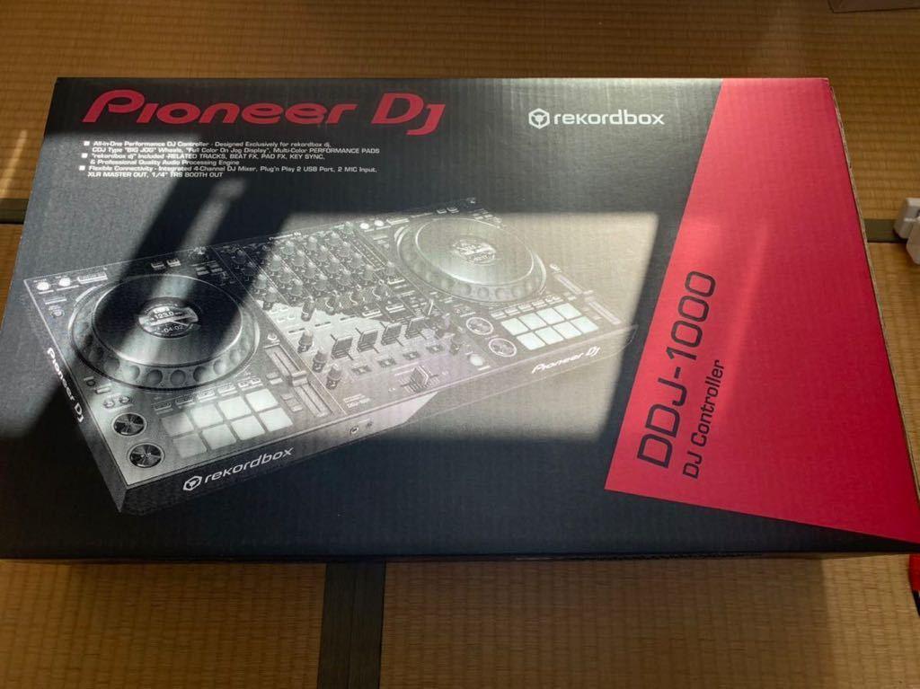 DDJ 1000 中古美品 Pioneer DJコントローラー rekordbox dj ライセンス付属_画像2