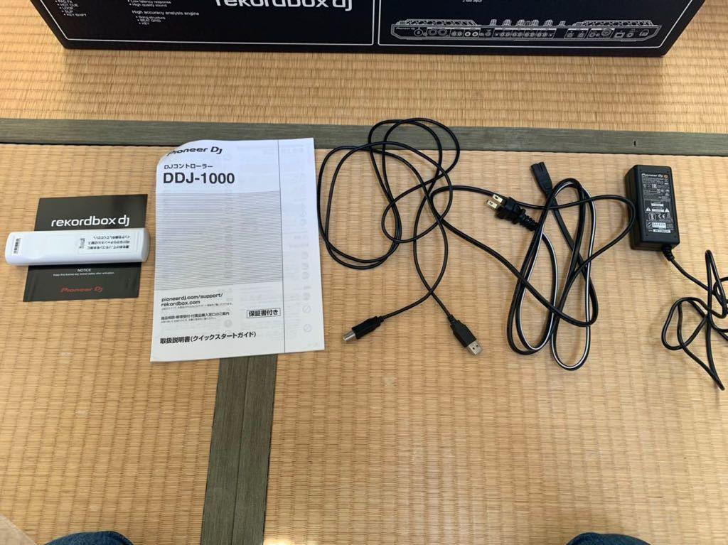DDJ 1000 中古美品 Pioneer DJコントローラー rekordbox dj ライセンス付属_画像3
