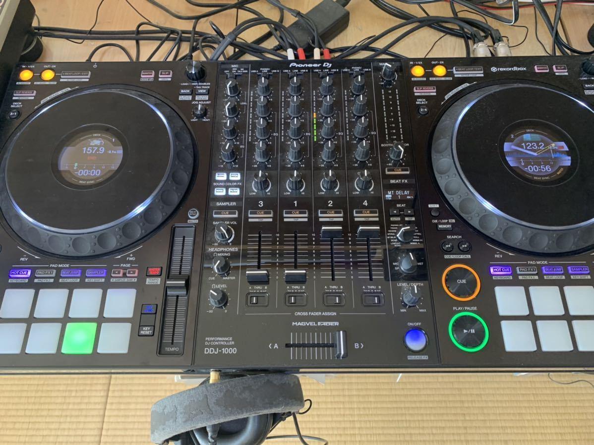 DDJ 1000 中古美品 Pioneer DJコントローラー rekordbox dj ライセンス付属_画像1