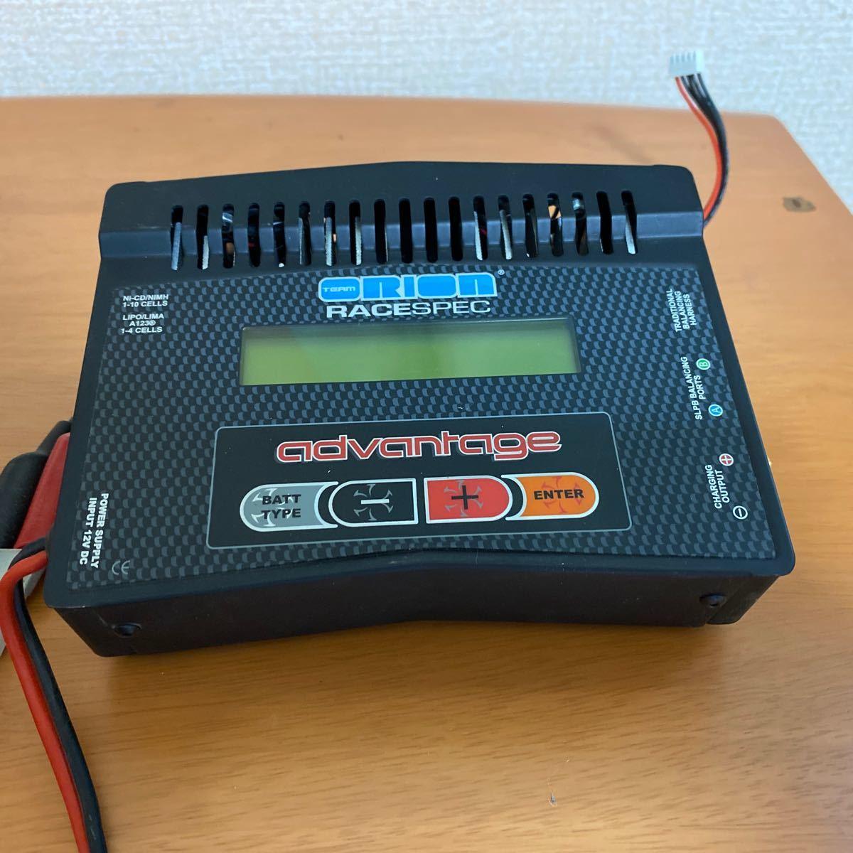 オリオン 充電器 リポ等全てのバッテリーに対応可能