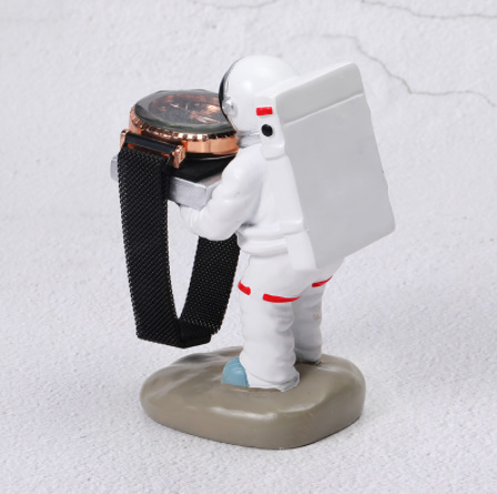 Mp4054:宇宙飛行士 腕時計スタンドラック 家政婦 リング イヤリング ブレスレット ネックレス ギフト ディスプレイ_画像3