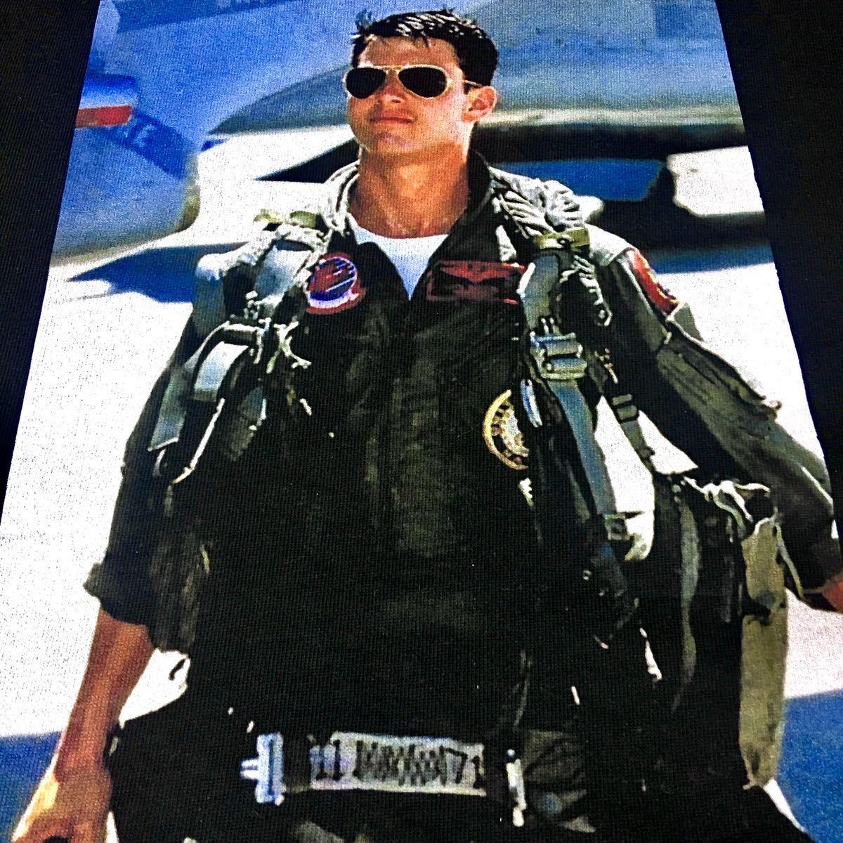 新品 トップガン トムクルーズ サングラス US AIR FORCE F-14 黒 パーカー XS S M L XL ビッグ オーバー サイズ XXL ジップアップ ロンT 可_画像6
