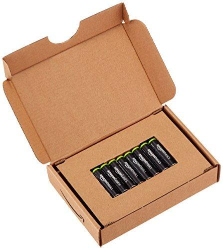 ベーシック 充電池 充電式ニッケル水素電池 単4形8個セット (最小容量750mAh、約1000回使用可能)_画像4
