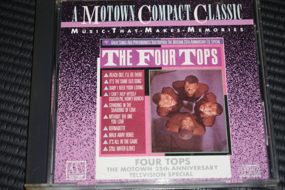 ◆The Four Tops◆ フォー・トップス Motown Greatest Songs ベスト CD 輸入盤