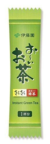 緑茶 100本 (スティックタイプ) 伊藤園 おーいお茶 抹茶入りさらさら緑茶 0.8g×100本 (スティックタイプ)_画像3