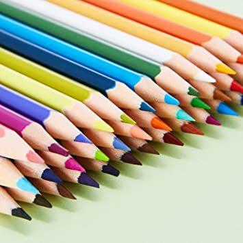 Theefun 色鉛筆 48色 六角軸 鉛筆けずり 収納ケース カラーリスト付き_画像4