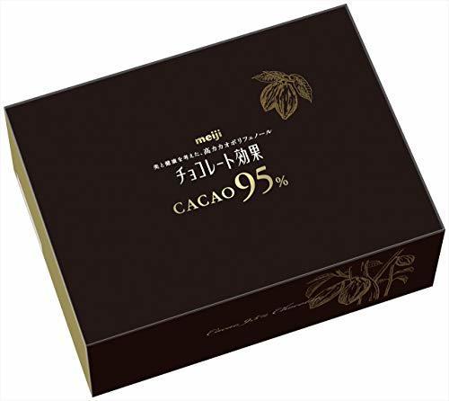 明治 チョコレート効果カカオ95% 大容量ボックス 800g_画像1
