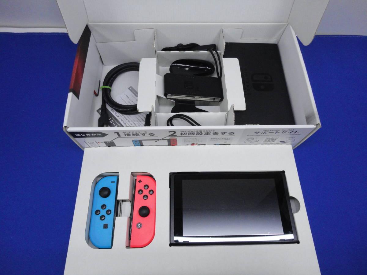 ジャンク Nintendo Switch ニンテンドー スイッチ 本体 36022302