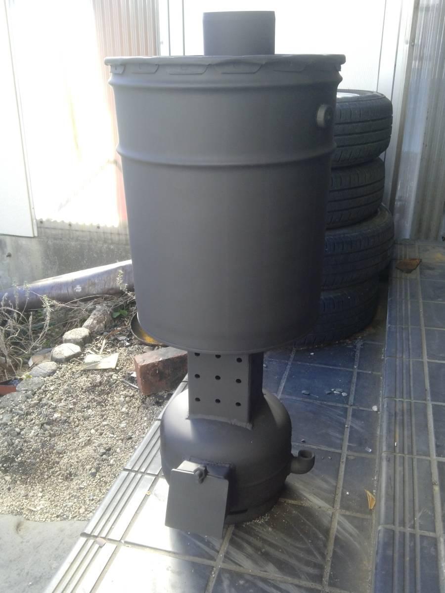 自然吸気 廃油ストーブ 激激熱保証 二次燃焼、三次燃焼!!_画像1