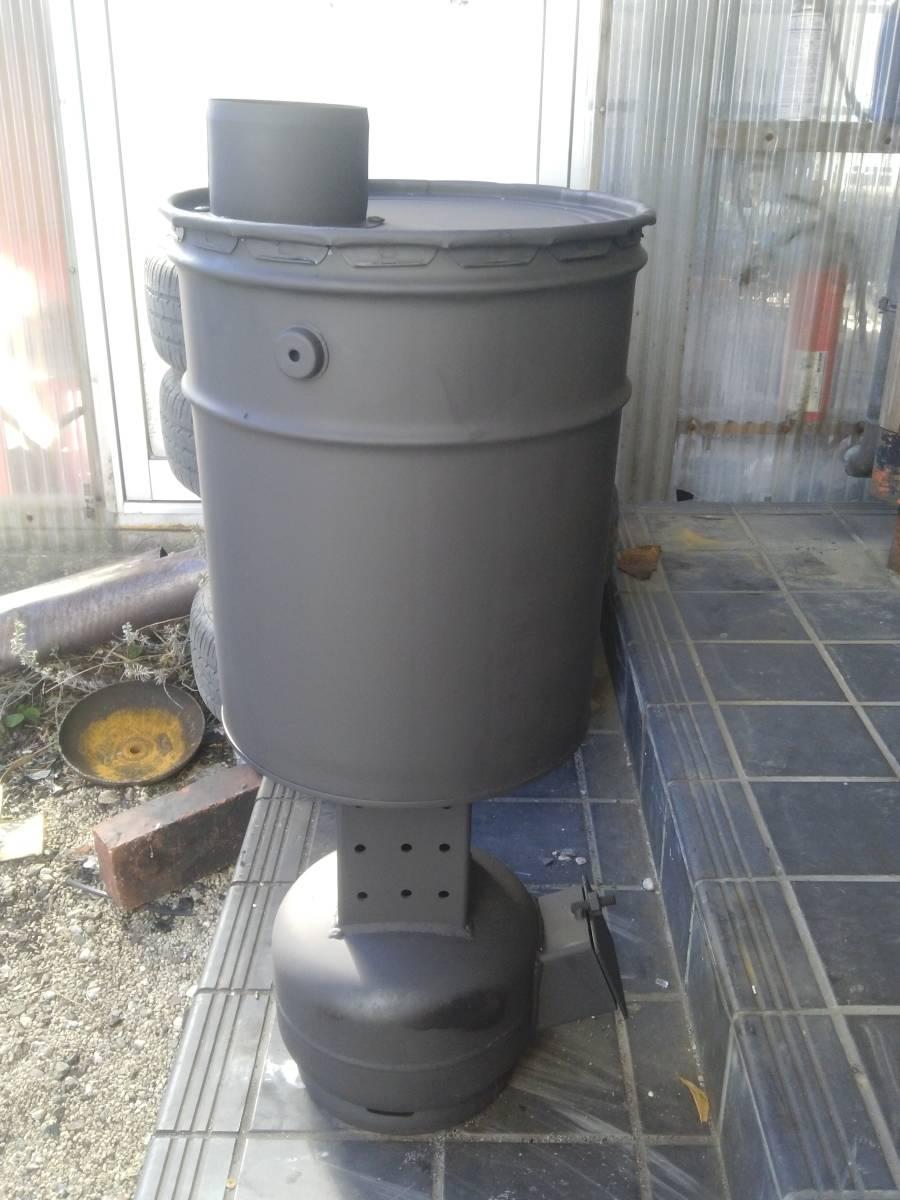 自然吸気 廃油ストーブ 激激熱保証 二次燃焼、三次燃焼!!_画像2