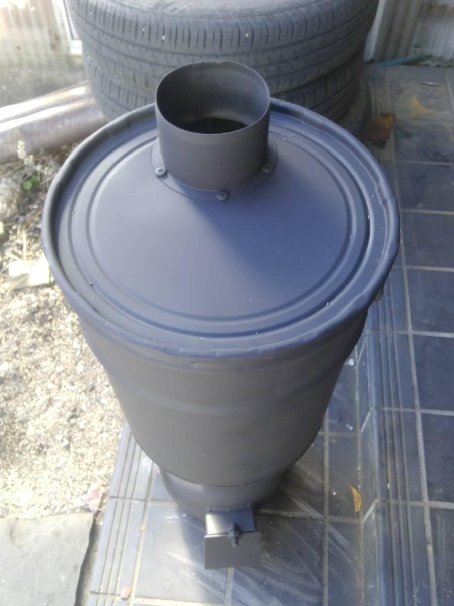 自然吸気 廃油ストーブ 激激熱保証 二次燃焼、三次燃焼!!_画像3