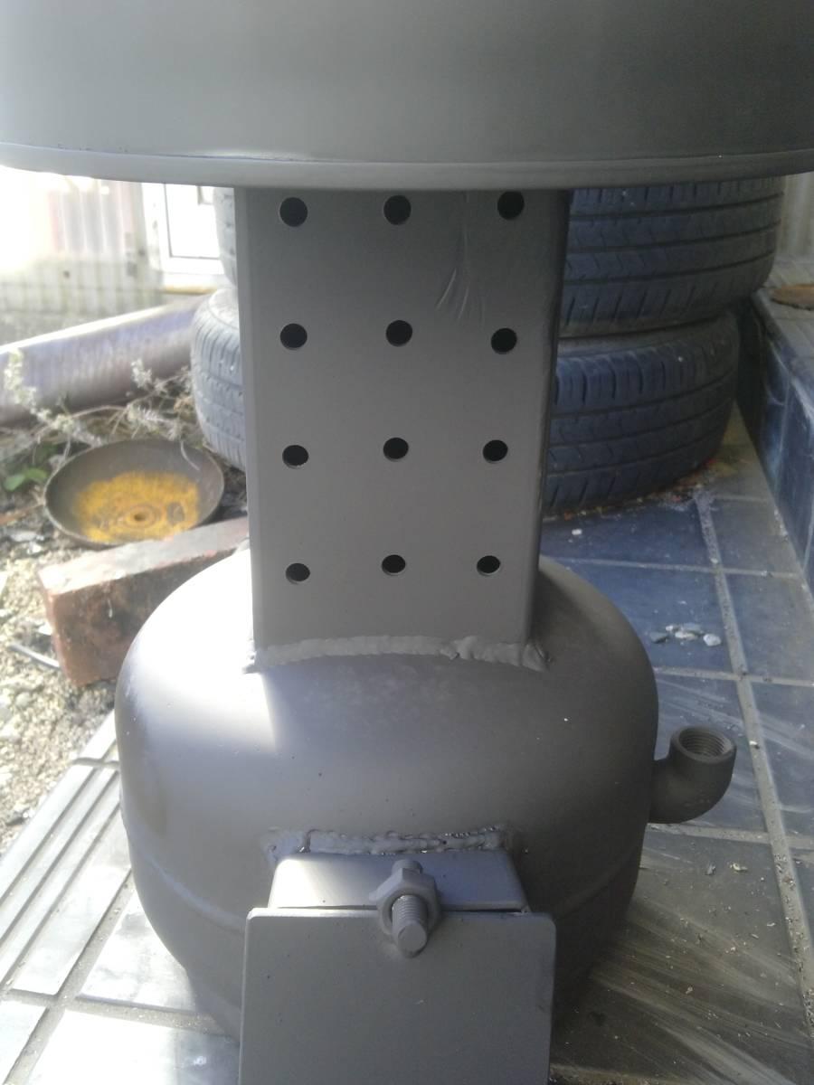 自然吸気 廃油ストーブ 激激熱保証 二次燃焼、三次燃焼!!_画像5