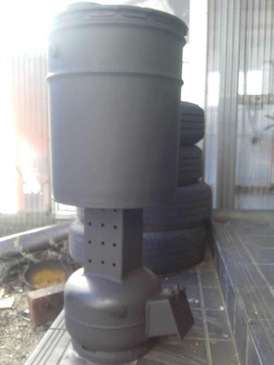 自然吸気 廃油ストーブ 激激熱保証 二次燃焼、三次燃焼!!_画像8