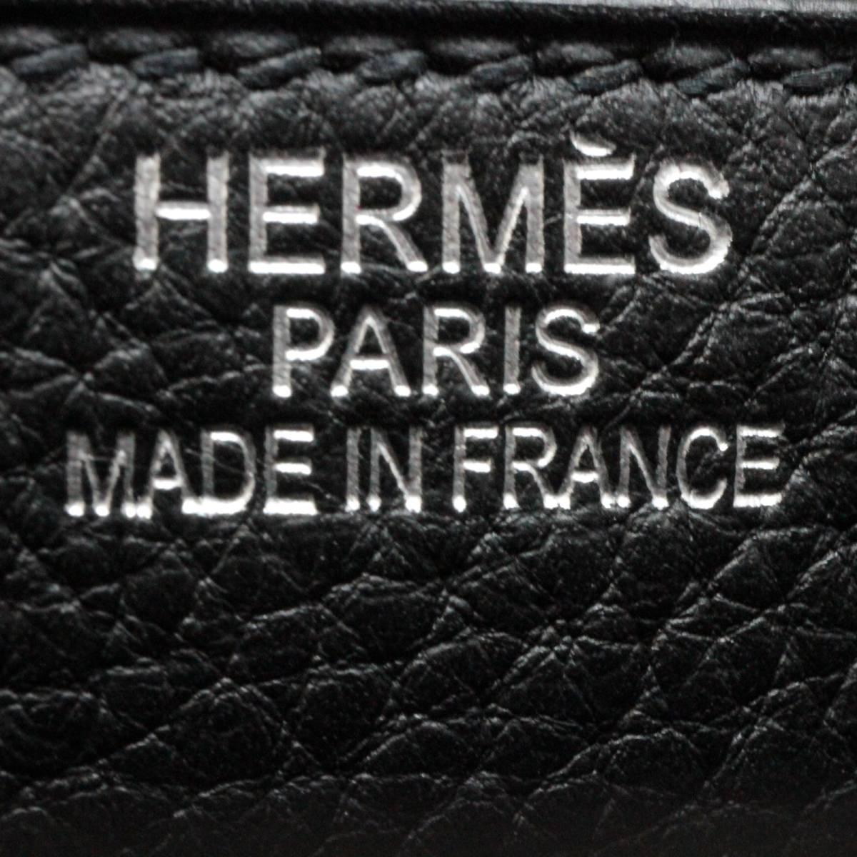 ◆◇【超美品】HERMES エルメス サックアデペッシュ ダブルベルト バック 42cm◇◆_画像9