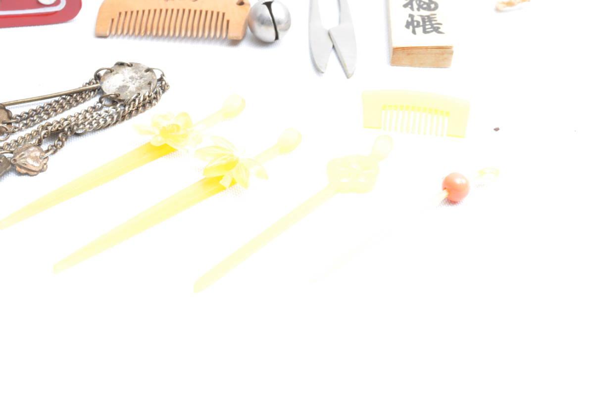 ミニチュア くし ランドセル コマ 置物 オブジェ レトロ 骨董 民芸品 ビンテージ ヴィンテージ 昭和レトロ_画像5