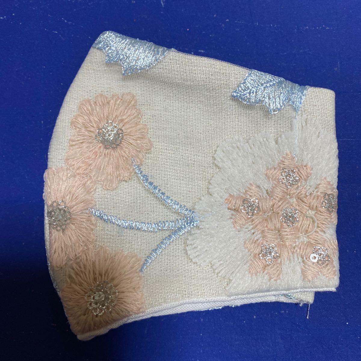 立体インナー 刺繍チュールレース