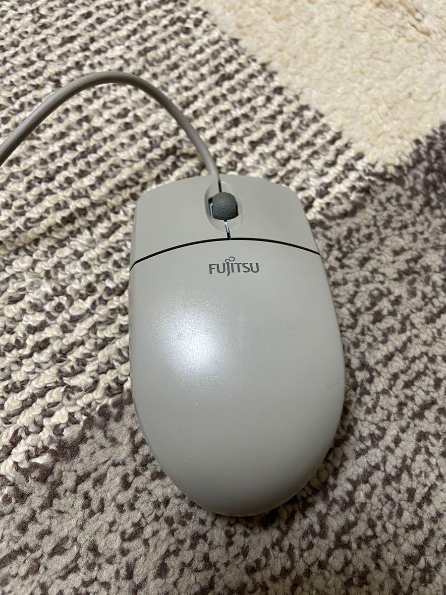 富士通 マウス PS/2 FUJITSU ボールマウス 純正品 在宅勤務 テレワーク パソコンマウス ノートパソコン デスクトップ