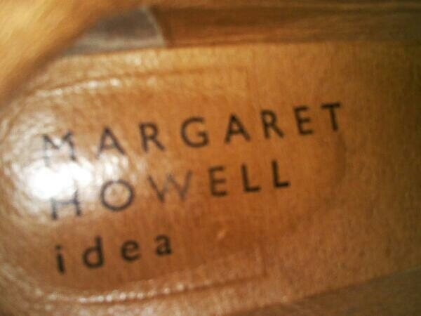 MARGARET HOWELL/マーガレット・ハウエル/レディース/靴/ショートブーツ/ブラウン/24.5cm_画像8
