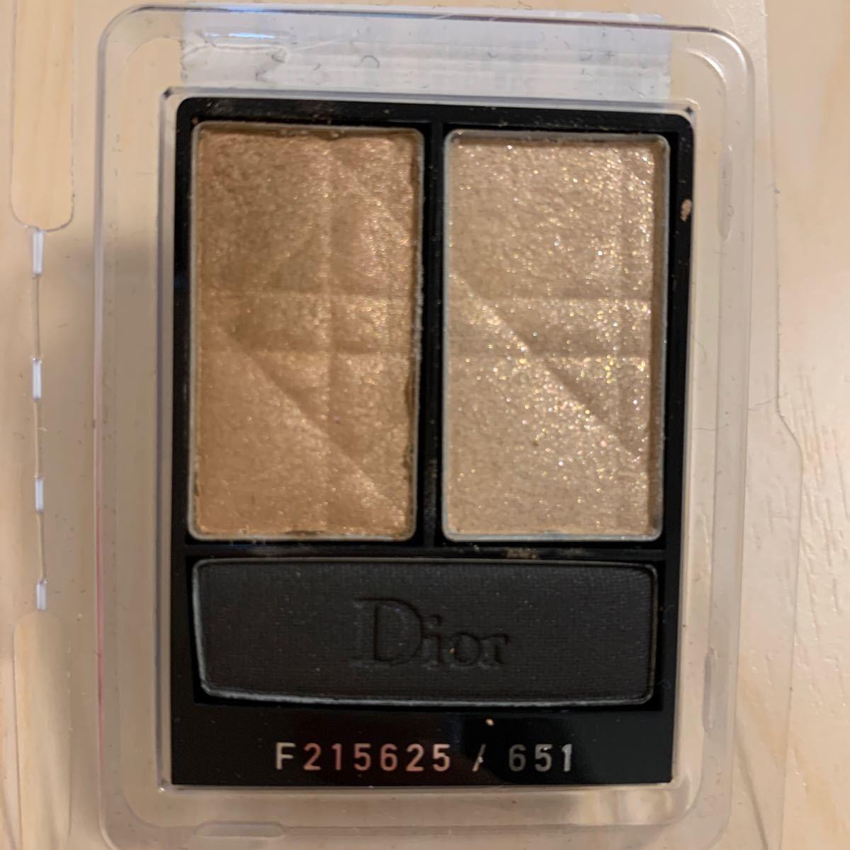 Dior ディオール トワ クルール アイシャドウ 651 ベージュ系