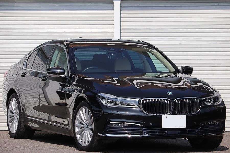「2016y / BMW / 740i / EXECUTIVE / ツインパワー ターボエンジン / アイボリー×ホワイトインテリア」の画像1