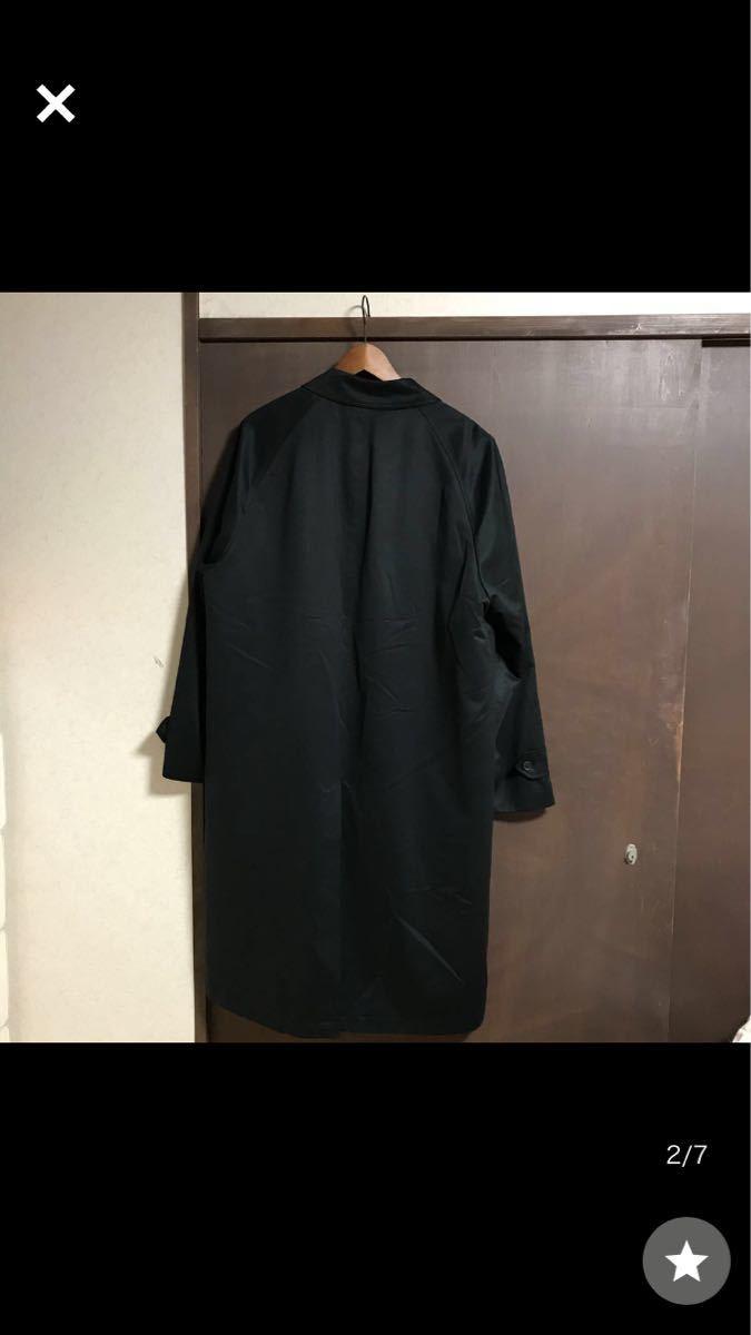 ステンカラーコート 4L REXER'S 裏地ありライナーつき 高級 黒 超軽量 大きいサイズ