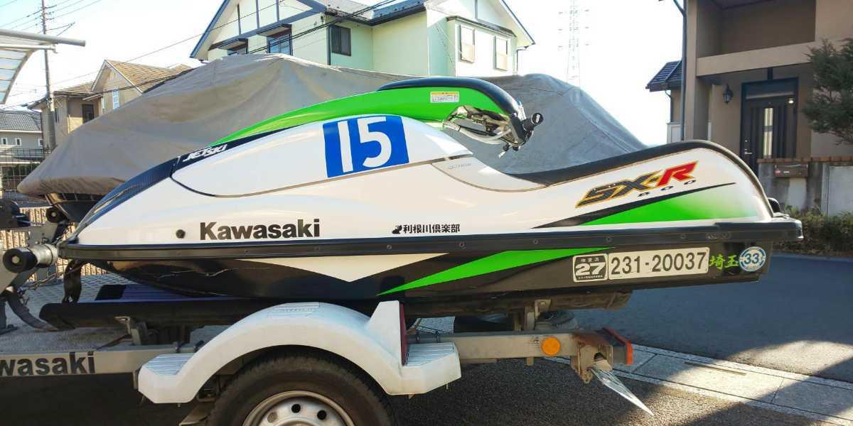 「カワサキ SXR800」の画像1